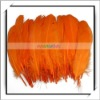 Wholesale! 50pcs Orange Mallard Duck Feathers