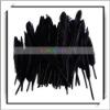 Wholesale! 50pcs Party Decor Black Goose Feather
