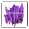 Wholesale! 50pcs Purple Raw Goose Feathers