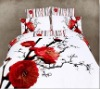 Wintersweet 100% cotton reactive printed bedding sets