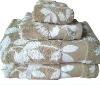 Y/D jacquard cotton towel