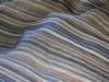 Yarn-dyed Georgette/real silk fabric
