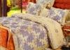Yarn dyed jacquard bedding set