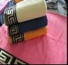 Zero-twist Dobby Bath Towel with Embroidery