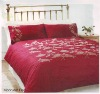 adult bedding set - Moon leaf Red