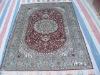 all kinds of silk carpet