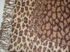 animal pattern scarf