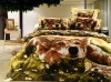 animal photo printed bedding set