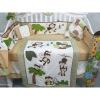 animal print baby bedding