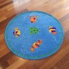 anti-slip acrylic carpet rug
