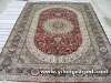 antique chinise silk rug