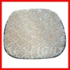 attractive solid colored oblong  cotton chair pads cushion
