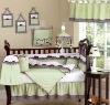 baby comforter berry emb bedding set MT4158