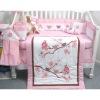 baby comforter birds bedding set MT4594