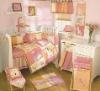 baby comforter emb animals bedding set MT4607