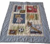 baby emb sports cotton bedding set MT2696