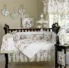 baby print flowers cotton bedding set MT3632