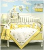 baby unisex bedding with emb dragonfly MT6615