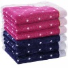 bamboo bright colour towel
