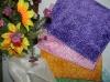 bamboo fiber soft face towel