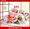 beautiful design 4pcs 100% cotton twill printed bed cover sets