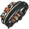 beautiful leather bracelets with star  good jewelry