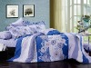 bedding set with 124*64 cotton quality