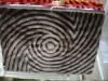 best selling shaggy silk carpet/3D effect carpet in 2012