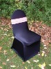 black color stretch chair cover,CT331,fit for all the chairs