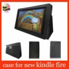 black leather case for kindle fire,for kindle fire leather case