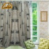 blackout beautiful modern picture printed polyester window curtain