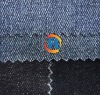 blue&black mercerized spandex slubbed denim/3/1 RHT