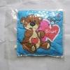 blue little Boof compression cushion