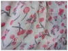 breathable fabric / polyester printed chiffon