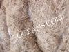 brown coir fiber stock uncompressed