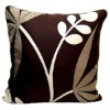 brushed polyester throw pillow