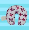 butterfly printing neck pillow
