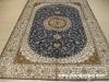 buy a handmade silk persian carpet