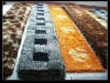 carpet tile/polyester shaggy carpet