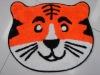cartoon mat tiger mat pouplar