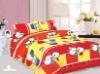 cartoon print bed sheet