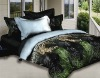 cat print bedding set