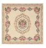 chenille single yarn jacquard area rugs