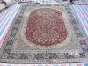 chinese rug silk 6x9 kashan