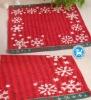 christmas square towel