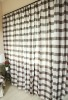 classic England style plaid blackout  living room curtain
