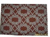colored 100% wool hand hooked rug/carpet
