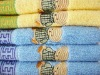 colorful 100% cotton bath towel