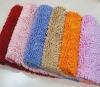 colorful chenille mat/carpet/rug