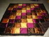 colorful taffeta patchwork quilts